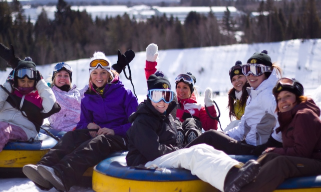 Jumpstreet Tours students on a winter class trip to Quebec City